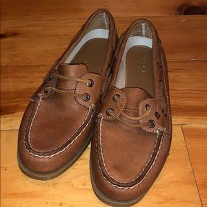 Women's Leather Sperrys
